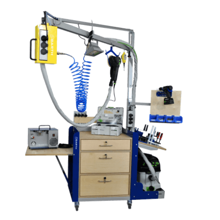 Equipment trolley orgaCAR