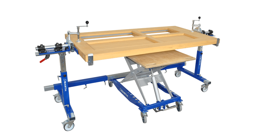 Work Tables And Assembly Tables I BARTH Mechanical Engineering - Rotating work table