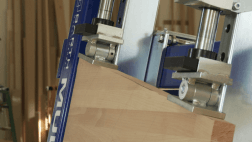Solid wood gluing