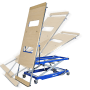 Barth GmbH is constantly working to make everyday life in the workplace easier. The new tilting table kippLIFT facilitates the transport of long, heavy and bulky parts by simply loading and unloading.