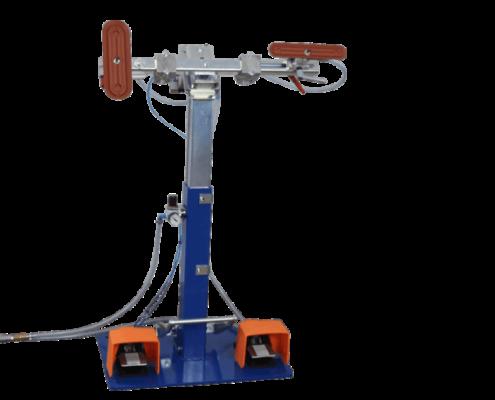 Das VakuuSYST® SWING ist eine einfache, doch praktische Montage- und Bearbeitungsvorrichtung.
