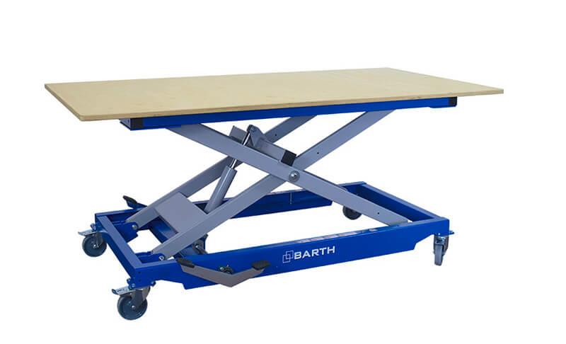Hubtisch Montagetisch Arbeitstisch BARTH H 350 XL